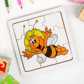 Пазл «Пчёлка с усиками»