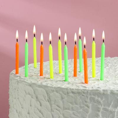 """Свечи для торта """"С Днем Рождения"""", 12 шт. в упаковке - Фото 1"""