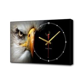 Часы настенные, серия: Животные, 'Орёл', 57х35х4 см Ош