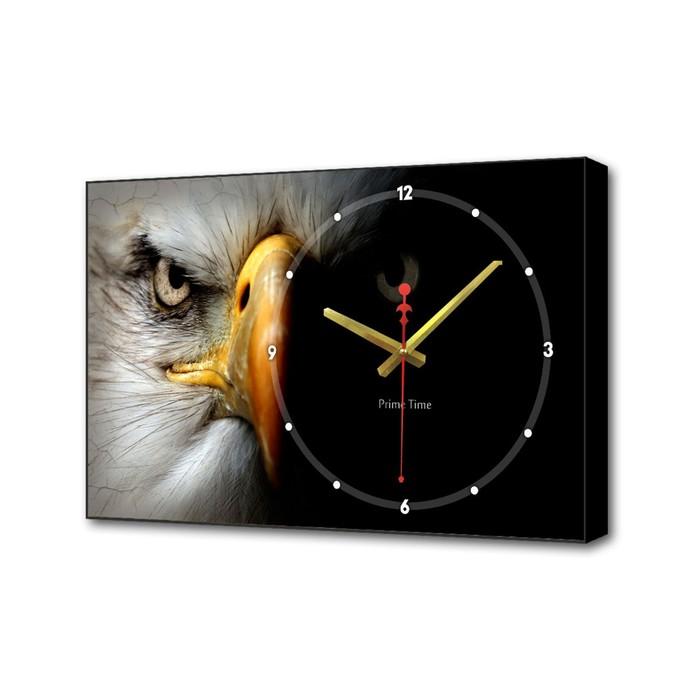 Часы настенные, серия Животные, Орёл, 57х35х4 см