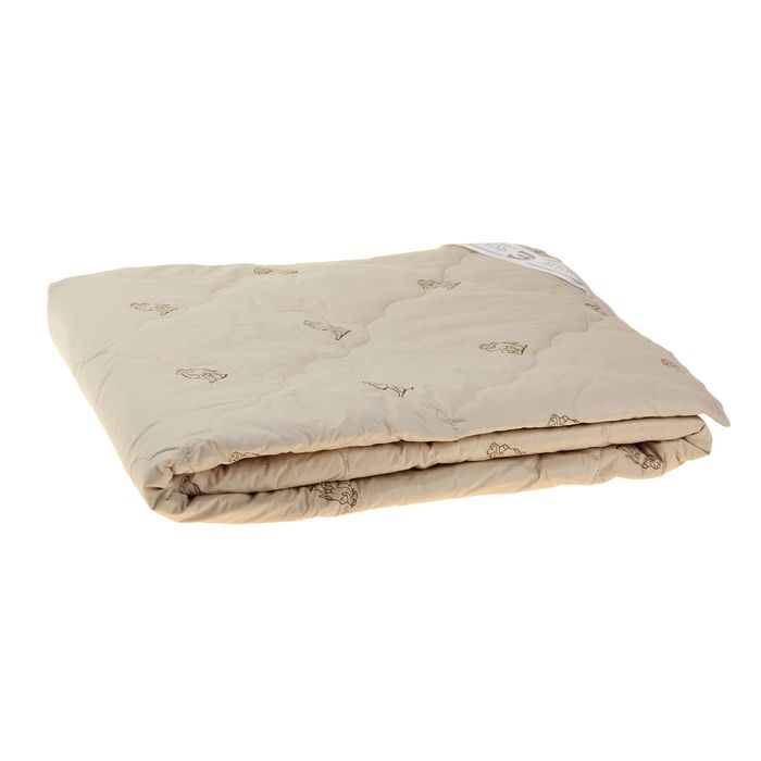 """Одеяло """"Этель"""" Верблюжья шерсть 140*205 см, тик, 300 гр/м2"""
