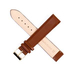 Ремешок для часов, мужской, 20 мм, коричневый удлиненный микс