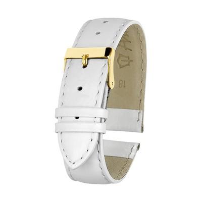 Ремешок для часов, мужской, 18 мм, белый