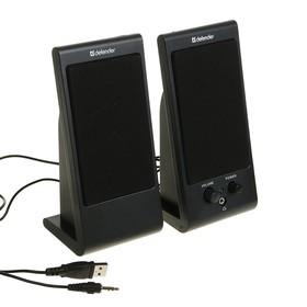Компьютерные колонки 2.0 Defender SPK-170, 2х2 Вт, USB, черные Ош