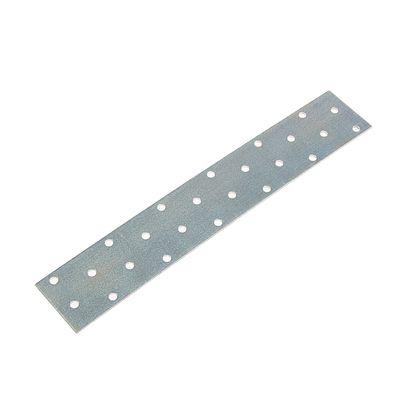Пластина крепёжная 40 х 240 х 2 мм, оцинкованная