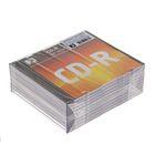Диск CD-R Data Standard, 52x, 700 Мб, Slim, 10 шт