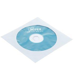 Диск CD-RW Mirex, 4-12x, 700 Мб, конверт, 1 шт Ош