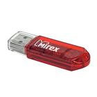 Флешка Mirex ELF RED, 8 Гб, USB2.0, чт до 25 Мб/с, зап до 15 Мб/с, красная