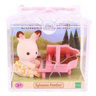 Игровой набор «Младенец в пластиковом сундучке. Кролик и рояль»