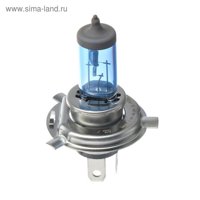 Лампа автомобильная Narva Range Power White, H4, 12 В, 60/55 Вт, набор 2 шт
