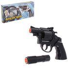 Пистолет игрушечный Americana Polizei, с 12-зарядными пистонами