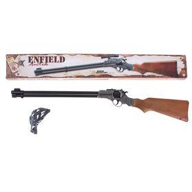 Ружьё игрушечное Enfield Gewehr Metall Western, с 8-зарядными пистонами, в коробе