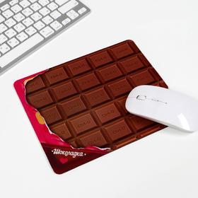 Коврик для мышки 'Шоколадка' Ош