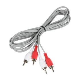 Кабель аудио/видео Smartbuy KA221, 2xRCA(m)-2xRCA(m), 1.8 м, Ош