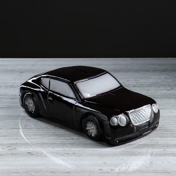 """Копилка """"Машина босса"""", глянец, цвет коричневый, 10 см"""