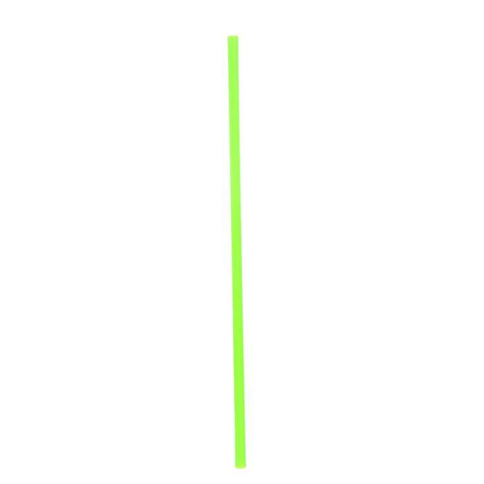 Трубочка для шаров, 40 см, d=1 см, цвет зелёный