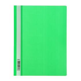 Папка-скоросшиватель А4, 140/180 мкм, зелёная