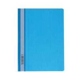 Папка-скоросшиватель А4, 140/180 мкм, синяя