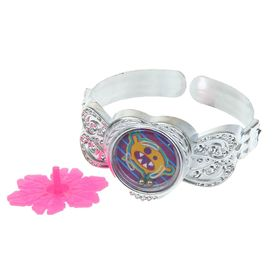 Карнавальный набор «Глазастик», 2 предмета: браслет, волчок, цвета МИКС Ош
