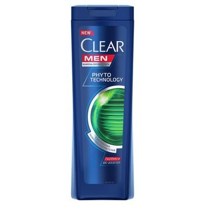 Шампунь для волос Clear Men Phytotechnology, 200 мл - Фото 1