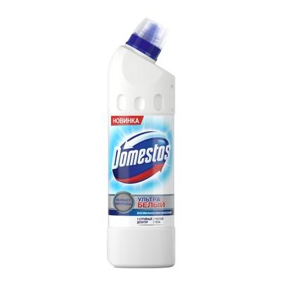 Средство чистящее для унитаза Domestos Ultra White, 500 мл - Фото 1