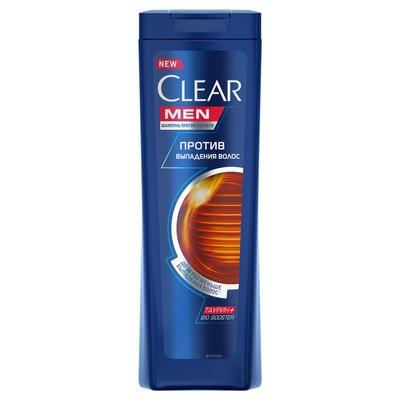 Шампунь для волос Clear Men «Против выпадения волос», 200 мл - Фото 1