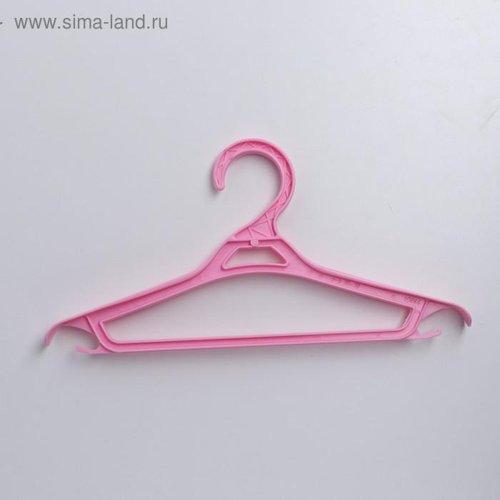 Вешалка-плечики для одежды, размер 36-38, цвет МИКС