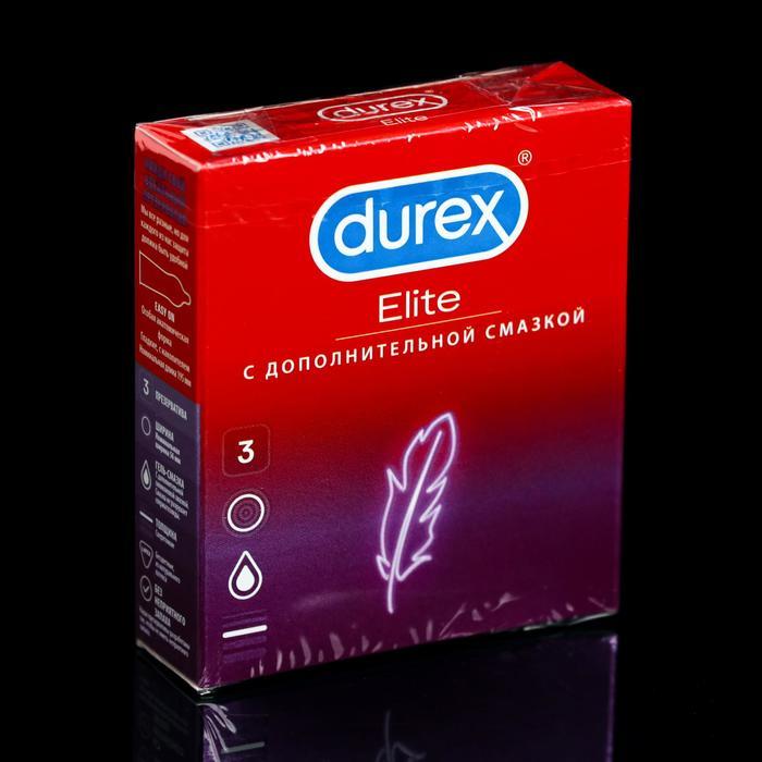 Презервативы Durex Elite, сверхтонкие, 3 шт