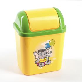 Контейнер для мусора 800 мл Zoo, цвет и рисунок МИКС Ош