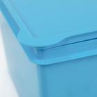 Ящик детский «Улыбка», 15 л, цвет МИКС - Фото 3