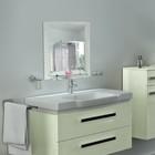 Зеркало в ванную комнату 60×45 см Ассоona A625, 1 полка