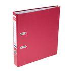 Папка-регистратор А4, 50 мм, «Стандарт», разборный, бордовый, этикетка на корешке, металлический кант, картон 2 мм, вместимость 350 листов
