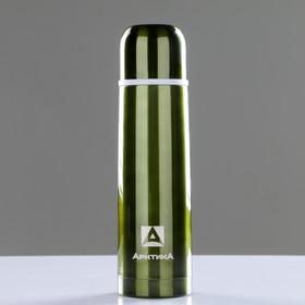 """Термос """"Арктика"""", 500 мл, вакуумный, зеленый"""
