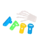 Набор напальчников «Ногти», набор 5 шт., цвета МИКС
