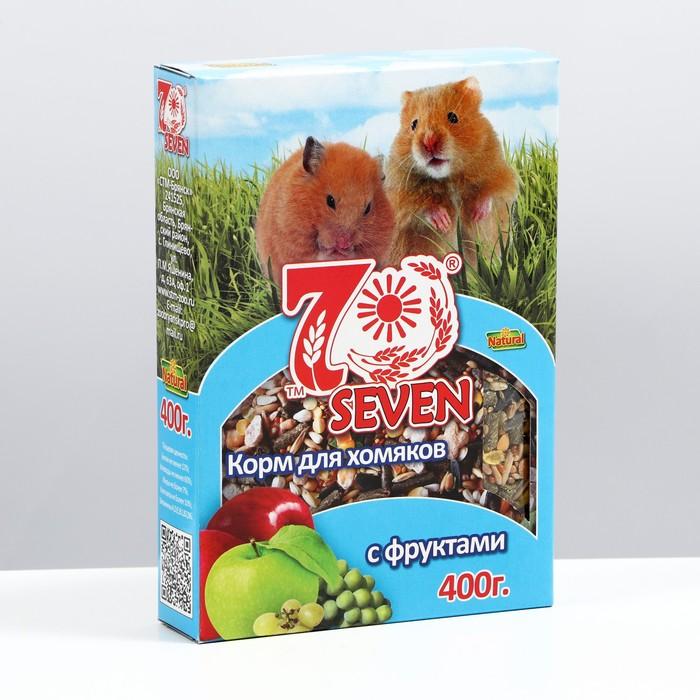 """Корм """"SEVEN SEEDS SPECIAL"""" для хомяков, с фруктами, 400 г"""