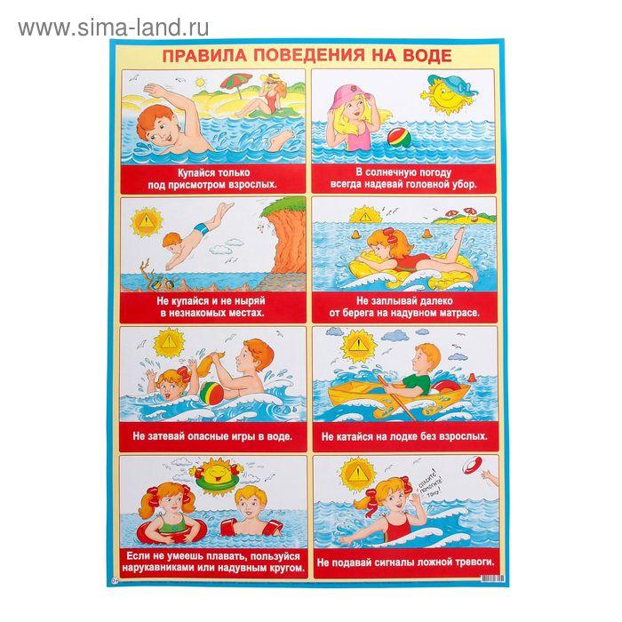 Безопасность на воде плакаты картинки