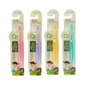 Зубная щетка Kids safe, детская, 4-6 лет, микс