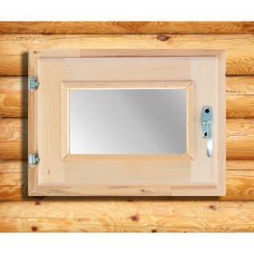 Окно, 30×40см, двойное стекло, из липы Ош