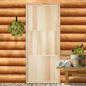 Дверь для бани, 170×70см Ош