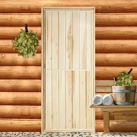Дверь для бани 'Эконом', 170×70см Ош