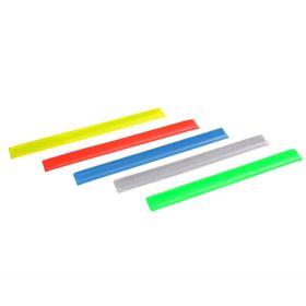 Браслет светоотрожающий 30 см, цвета МИКС Ош