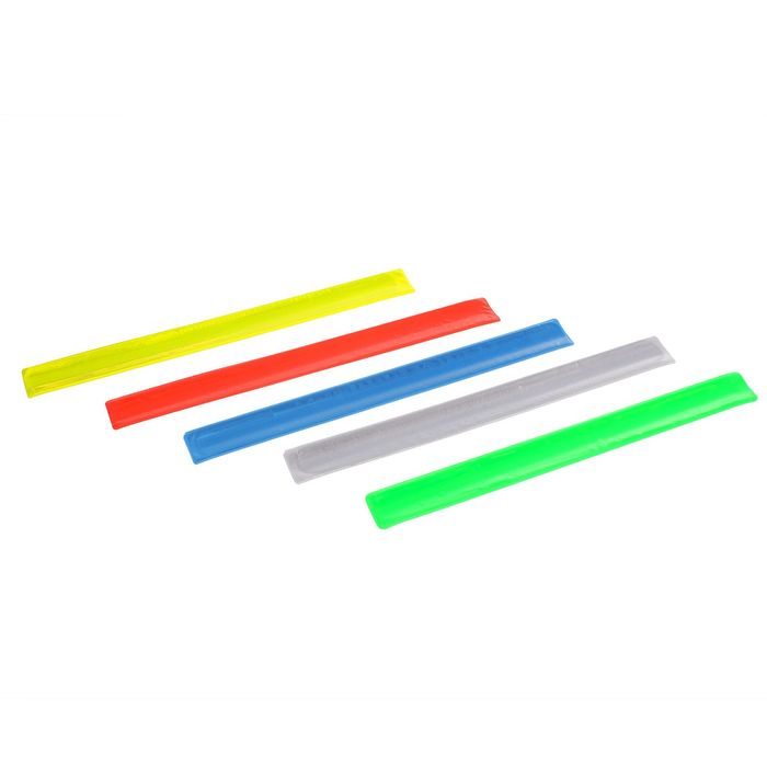 Браслет светоотражающий, 30 см, цвета МИКС