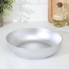 Сковорода с утолщенным дном, 24×6 см