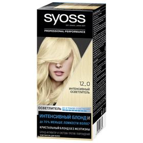 Крем-краска для волос Syoss Color, тон 12-0, интенсивный осветлитель