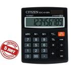 Калькулятор настольный 10-разрядный SDC-810BN, 102*124*25 мм, двойное питание, черный