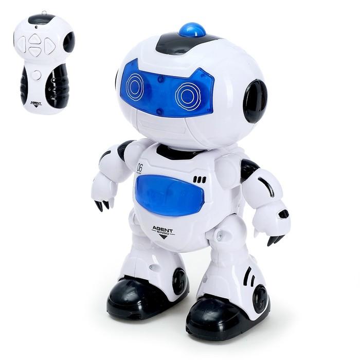 """Робот радиоуправляемый """"Космобот"""", световые и звуковые эффекты"""