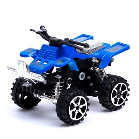 Мотоцикл инерционный «Квадрик», цвета МИКС Ош