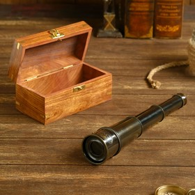 Сувенирная подзорная труба в шкатулке 'Ноида', линза 4x Ош