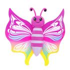 Фигурка животного «Бабочка», ползучая на липучке, МИКС