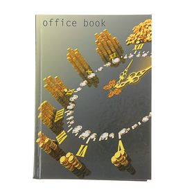 Колледж-тетрадь А5, 160 листов клетка 'Золотой фонд', твердая обложка Ош